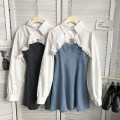 Fashion suit Spring 2021 Average size Black, blue 18-25 years old cotton