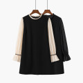 Dress Spring 2021 M, L Short skirt singleton  Long sleeves stand collar Loose waist Socket A-line skirt pagoda sleeve Type A Other / other
