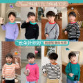 Sweater / sweater 80cm,90cm,100cm,110cm,120cm,130cm,140cm other neutral OO+KIDS Korean version There are models in the real shooting Socket routine Crew neck Ordinary wool stripe other 2 years old, 3 years old, 4 years old, 5 years old, 6 years old Chinese Mainland