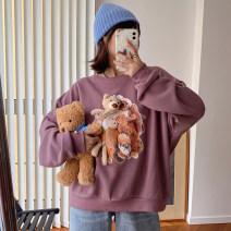 Sweater / sweater Autumn 2020 Purple, blue, white Average size