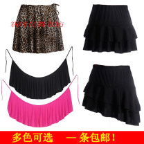 Latin bottom female One size fits all, m, l, XL Pleated skirt New fashion other
