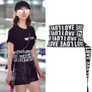 Belt / belt / chain cloth Black, big black female Waistband Versatile Single loop Youth, youth, middle age other soft surface 14cm alloy FY539 70cm
