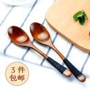 Spoon Set / fork chopsticks Chinese Mainland wood Self made pictures Spoon, fork public Xiaoxinqing Japanese  restaurant