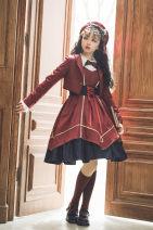 Lolita / soft girl / dress Green lo L,M,S,XL No season Pre sale Classic, Lolita Pink Jsk (long)