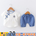 suit foot&cool Small pollen, small flower, green leaves, gray leaves, yellow Sikong blue, Sikong yellow, Sikong green, jingputi blue, Dao, Puti white, m silk red, m silk yellow neutral summer leisure time Short sleeve + pants 2 pieces routine No model Socket nothing other cotton friend birthday F678