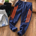 trousers Fat dad's house male Navy, black, flax grey spring and autumn trousers Simplicity No model Sports pants Leather belt middle-waisted cotton Don't open the crotch Cotton 95% polyurethane elastic fiber (spandex) 5% Class B Chinese Mainland