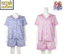Pajamas / housewear set female Other / other Average size Pink Blue cotton Short sleeve Sweet pajamas summer Thin money shorts youth 2 pieces rubber string