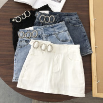 Jeans Summer 2020 S,M,L,XL Super shorts low-waisted routine Thin denim 51% (inclusive) - 70% (inclusive)