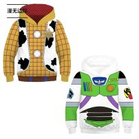 Cartoon T-shirt / Shoes / clothing Toy Story Mania Sweater Over 8 years old goods in stock Buzz Lightyear, Sheriff woody, flash, Captain America, Black Warrior, white soldier, Spiderman, mieba, my hero academy, Bravo, miles, fireshadow, Tony No season