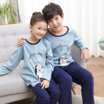 Home suit Bardo bear 120cm 130cm 140cm 150cm 160cm 170cm Four seasons neutral Cotton 100% 11-13 years old or above 13 years old 3-5 years old 5-7 years old 7-9 years old 9-11 years old Keep warm, remove moisture and absorb sweat at home cotton Class B Autumn 2020