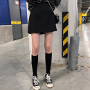 skirt Winter of 2018 S,M,L Red, black Short skirt commute High waist A-line skirt Solid color Type A 18-24 years old 91% (inclusive) - 95% (inclusive) Korean version