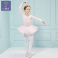 Children's performance clothes Chiffon (only dance clothes, not dance socks and shoes) female 110cm 120cm 130cm 140cm 150cm Kamengqi JQ-720-2 Ballet Autumn of 2019