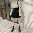Fashion suit Summer 2021 S. M, l, average size Black skirt, grey skirt, green shirt, white shirt Other / other A719# 81% (inclusive) - 90% (inclusive)