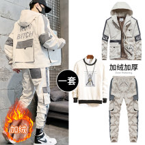Sweater Youth fashion Disway M L XL 2XL 3XL 4XL 5XL other Cardigan routine Hood winter easy leisure time teenagers Youthful vigor routine DSW-028-3335AA Polyester 100% printing No iron treatment Winter of 2019 Three dimensional bag Pure e-commerce (online only) Other styles zipper