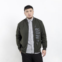 Jacket MAX HUNG Fashion City Black army, green attention, courtesy 2XL 3XL 4XL 5XL 6XL 7XL 8XL easy Other leisure 8232# Polyester 100% Long sleeves Large size Autumn 2020