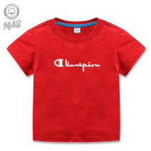 T-shirt White, gray, black, red, yellow, orange, green, light green, blue, light blue, treasure blue Other / other 90cm,100cm,110cm,120cm,130cm,140cm neutral summer Short sleeve Crew neck Cartoon No model nothing cotton Cartoon animation Cotton 100% X-93 Chinese Mainland Guangdong Province