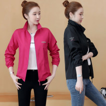 Sports jacket / jacket Other / other female Autumn 2020 stand collar zipper Sports & Leisure Sports life