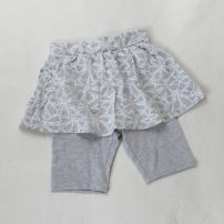 trousers allo&lugh female 110cm,120cm,130cm,140cm,150cm grey summer Pant lady Leather belt cotton Open crotch F16D1SP102 F16D1SP102 2 years old, 3 years old, 4 years old, 5 years old, 6 years old