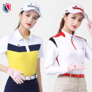 Golf apparel S,M,L,XL,XXL female Golf t-shirt