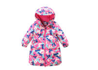 Down Jackets 80% White duck down Children, female Other / other polyester have more cash than can be accounted for No detachable cap Zipper shirt Broken flowers Class A Polyester 100% Polyester 100%
