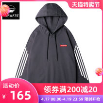 Sweater Youth fashion KERWATS Hooded - Black hooded - RED HOODED - Pink Hooded - dark grey S M L XL 2XL 3XL 4XL 5XL 6XL letter Socket routine Hood winter easy Home Large size like a breath of fresh air routine KWS66600008 Fleece  Cotton 100% cotton printing Winter of 2018 More than 95% Chinese style