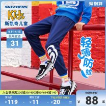 trousers SKECHERS / SKECHERS neutral 110cm 120cm 130cm 140cm 150cm 160cm 170cm spring and autumn trousers leisure time Leggings Tether middle-waisted Don't open the crotch Cotton 55% polyester 45% L320B146 Class B L320B146 Autumn 2020 Four years old, 12 years old