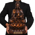 Ornaments resin character Chinese style Ebony color - respond to all demands (Avalokitesvara) Tabletop ornaments a living room Good ceremony and art