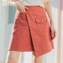 skirt Summer 2021 S M L XL Short skirt Retro High waist A-line skirt Type A 18-24 years old More than 95% other Inman / Inman cotton Cotton 100%