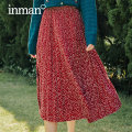 skirt Spring 2021 S M L Mid length dress fresh Natural waist A-line skirt Broken flowers Type A 25-29 years old More than 95% Inman / Inman other Embroidered stitching Other 100%