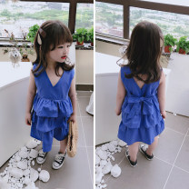 Dress As shown in the figure female Other / other The recommended height is 90cm-100cm for size 7, 100cm-110cm for size 9, 110cm-120cm for size 11, 120cm-130cm for size 13 and 130cm-140cm for size 15 Other 100% summer af98219 Seven, six, five, four, three, two
