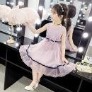 Dress White light pink pink pink purple female Sheng Baoer 110 [recommended height 95-105cm] 120 [recommended height 105-115cm] 130 [recommended height 115-125cm] 140 [recommended height 125-135cm] 150 [recommended height 135-145cm] 160 [recommended height 145-155cm] Other 100% summer Korean version