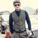 Vest / vest Business gentleman Mixlimited / men's Club S M L XL XXL XXXL Other leisure Self cultivation Vest routine autumn youth 2018 Business Casual Cotton 100% Autumn of 2018