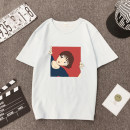 T-shirt S,M,L,XL,2XL,3XL Summer of 2018 Short sleeve Crew neck easy Regular routine polyester fiber 86% (inclusive) -95% (inclusive) youth printing
