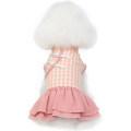 Pet clothing / raincoat Dog Dress XS (2-3 kg recommended) s (4-5 kg recommended) m (6-7 kg recommended) l (8-9 kg recommended) XL (10-12 kg recommended) CBBPET leisure time Pink Blue