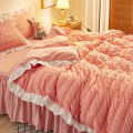 Bed skirt 150 * 200 bed skirt [2 pillow cases], 180 * 220cm bed skirt [2 pillow cases], 200 * 220cm [2 pillow cases] Others Guizhong Plants and flowers Qualified products