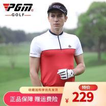 Golf apparel M,L,XL,XXL male PGM t-shirt