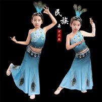 Children's performance clothes Gradient sleeve, gradient band sleeve female 110cm,120cm,130cm,140cm,150cm,160cm Shuntai Caozhou nation 7, 8, 14, 3, 6, 13, 11, 5, 4, 10, 9, 12 ethnic style
