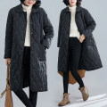 Women's large Winter 2020, autumn 2020 black M [suggested 90-120 kg], l [suggested 120-150 kg], XL [suggested 150-200 kg] cotton-padded clothes singleton  commute easy thickening Cardigan Long sleeves Solid color literature Medium length routine Other / other 51% (inclusive) - 70% (inclusive)