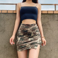 skirt Summer 2020 XS,S,M camouflage Short skirt street High waist skirt Europe and America