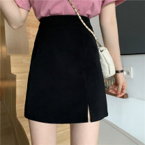 skirt Summer 2021 S,M,L White, blue, black longuette commute High waist other other Type A 18-24 years old 31% (inclusive) - 50% (inclusive) other other Korean version