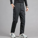 Down pants Sherris 216 black 216 grey M L XL 2XL 3XL 4XL 5XL 6XL 7XL Youth fashion trousers Wear out 80% - 89% white duck down leisure time youth three million two hundred thousand two hundred and sixteen Basic public Straight cylinder Solid color Polyester 100% Multiple pockets Winter 2020 winter