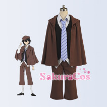 Cosplay men's wear suit Customized Sakuracos Over 14 years old comic 50. M, s, XL, customized Japan Wenhao wild dog Campus style