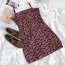 Dress Summer 2021 Raspberry powder S, M Short skirt singleton  Sleeveless commute Decor camisole 18-24 years old Type A Korean version More than 95% polyester fiber
