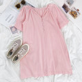 Dress Summer 2021 Pink Average size 18-24 years old More than 95% other