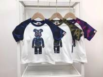 T-shirt Purple with white, blue with white, green with white Other / other 100cm,110cm,120cm,130cm,140cm neutral summer Short sleeve other other No model nothing cotton Solid color Cotton 90% other 10% Class A other Three, four, five, six, seven, eight, nine, ten Chinese Mainland Guangdong Province
