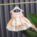 Dress Free freight insurance for main drawing, red free freight insurance, purple free freight insurance, blue free freight insurance, violet free freight insurance, pink free freight insurance female Other / other 80cm,90cm,100cm,110cm,120cm Other 100% summer princess Skirt / vest Solid color cotton