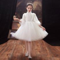 Children's dress female 100cm 110cm 120cm 130cm 140cm 150cm 160cm Salonsports / shamelon full dress LF585 Class B other Polyester 100% Winter 2020 princess