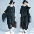 Fashion suit Summer of 2018 black Other / other 96% and above acrylic fibres