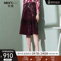 skirt Autumn 2020 36/S 38/M 40/L 42/XL 44/XXL Dark red Middle-skirt commute Natural waist A-line skirt Solid color Type A 35-39 years old 81% (inclusive) - 90% (inclusive) other NEXY.CO/ Naikou polyester fiber Asymmetry Simplicity Polyester fiber 89.3% polyurethane elastic fiber (spandex) 10.7%