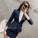 Professional dress suit S M L XL XXL XXXL 4XL Autumn 2020 Long sleeves AX1515 Coat other styles Suit skirt 25-35 years old Aoxi Polyester fiber 64.4% viscose fiber (viscose fiber) 34.6% polyurethane elastic fiber (spandex) 1%